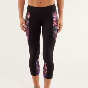 Lululemon Run: Reflect Crop Spring Has Sprung